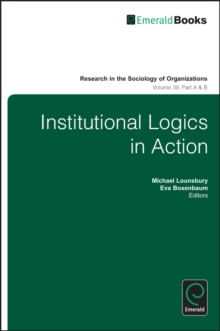 Institutional Logics in Action, Multiple copy pack Book