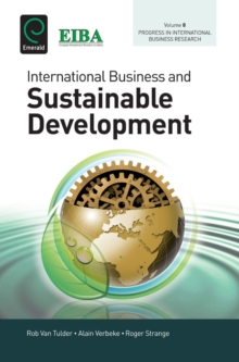 International Business and Sustainable Development, Hardback Book