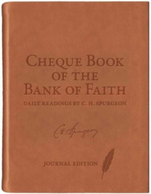 Chequebook of the Bank of Faith Journal, Leather / fine binding Book