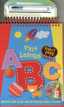 Tiny Tots First Learning a,b,c, Spiral bound Book