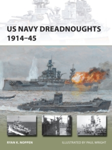 US Navy Dreadnoughts 1914-45, Paperback Book