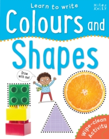 Learn To Write -  Colours and Shapes, Paperback / softback Book