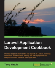 Laravel Application Development Cookbook, Paperback / softback Book