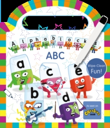 Alphablocks Wipe-Clean: ABC, Board book Book