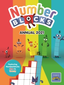 Numberblocks Annual 2021, Hardback Book