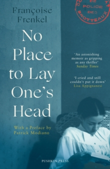 No Place to Lay One's Head, Paperback / softback Book
