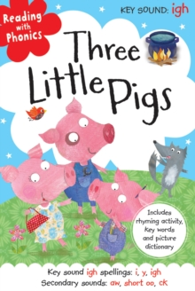 Three Little Pigs Touch and Feel, Hardback Book