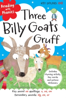 Three Billy Goats Gruff, Hardback Book