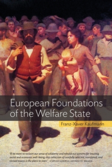 European Foundations of the Welfare State, Paperback / softback Book