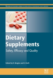 Dietary Supplements : Safety, Efficacy and Quality, Hardback Book