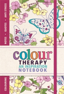 Colour Therapy Notebook, Paperback Book