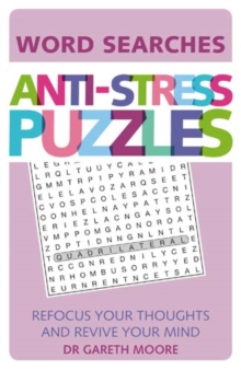 Anti-Stress Puzzles : Word Searches, Paperback / softback Book