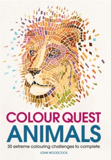 Colour Quest Animals, Paperback Book