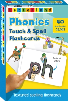 Phonics Touch & Spell Flashcards : Textured Spelling Flashcards, Cards Book