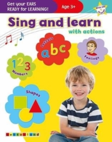 Sing and learn with actions, Mixed media product Book
