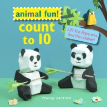 Animal Fun! Count to 10 : Lift the Flaps and Find the Number!, Hardback Book
