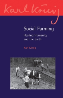 Social Farming : Healing Humanity and the Earth, Paperback Book