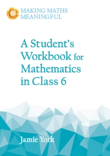A Student's Workbook for Mathematics in Class 6, Paperback Book