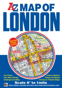 Map of London, Sheet map, folded Book