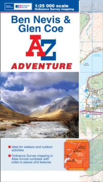 Ben Navis & Glen Coe Adventure Atlas, Paperback Book