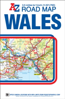 Wales Road Map, Sheet map, folded Book