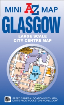 Glasgow Mini Map, Sheet map, folded Book