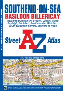Southend-on-Sea A-Z Street Atlas, Paperback / softback Book