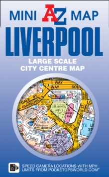 Liverpool Mini Map, Sheet map, folded Book