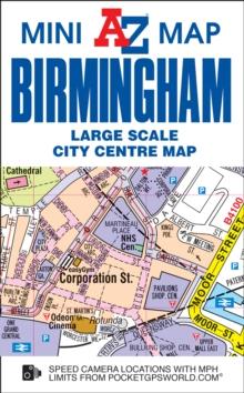 Map Of Uk Birmingham.Birmingham Mini Map 9781782571957 Hive Co Uk
