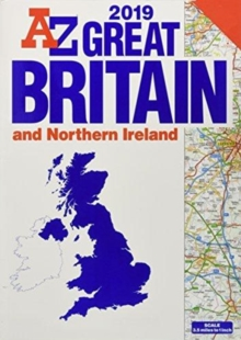 Great Britain Road Atlas 2019 (A3 GBP4.99), Paperback / softback Book