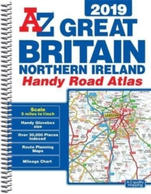 Great Britain Handy Road Atlas 2019 (A5 Spiral), Spiral bound Book
