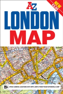 London Map, Sheet map, folded Book