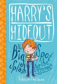 Harry's Hideout - Spot the Difference and the Big Splash, Hardback Book