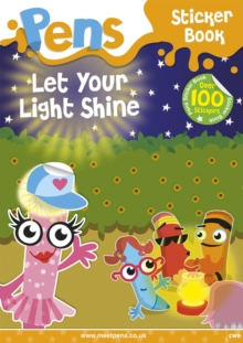 Pens Sticker Book: Let Your Light Shine, Paperback Book