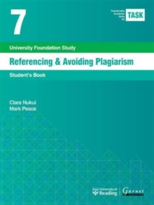 TASK 7 Referencing & Avoiding Plagiarism (2015) - Student's, Board book Book