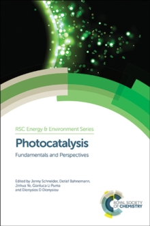 Photocatalysis : Fundamentals and Perspectives, Hardback Book