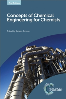 Concepts of Chemical Engineering for Chemists, Hardback Book