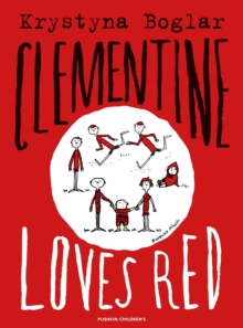 Clementine Loves Red, Paperback Book