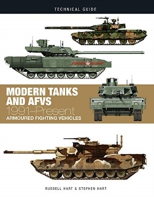 Modern Tanks and AFVs : 1991-Present Armoured Fighting Vehicles, Hardback Book