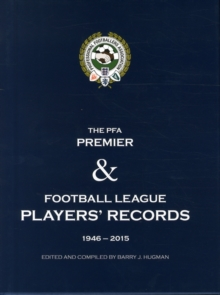 PFA Player's Records 1946-2015, Hardback Book