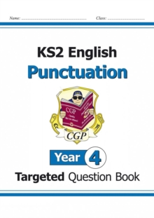 KS2 English Targeted Question Book: Punctuation - Year 4, Paperback / softback Book