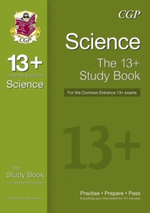 New 13+ Science Study Book for the Common Entrance Exams, Paperback Book