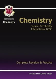 Edexcel International GCSE Chemistry Complete Revision & Practice with Online Edition (A*-G), Paperback Book