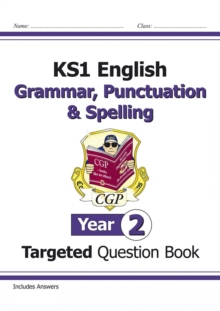 KS1 English Targeted Question Book: Grammar, Punctuation & Spelling - Year 2, Paperback Book