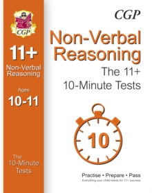 10-Minute Tests for 11+ Non-Verbal Reasoning (Ages 10-11) (for Gl & Other Test Providers), Paperback Book