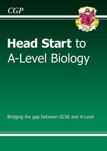 New Head Start to A-Level Biology, Paperback Book