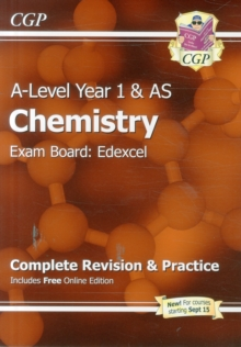 New A-Level Chemistry: Edexcel Year 1 & AS Complete Revision & Practice with Online Edition : Exam Board: Edexcel, Paperback Book