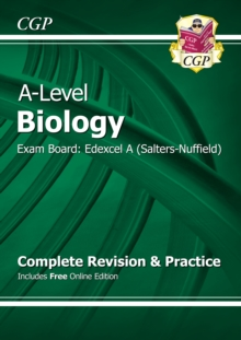 A-Level Biology: Edexcel A Year 1 & 2 Complete Revision & Practice with Online Edition, Paperback Book