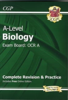 New A-Level Biology: OCR A Year 1 & 2 Complete Revision & Practice with Online Edition : Exam Board: OCR A, Paperback Book