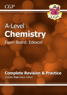 A-Level Chemistry: Edexcel Year 1 & 2 Complete Revision & Practice with Online Edition, Paperback Book